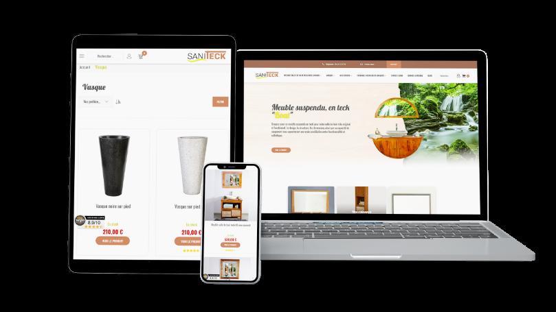 Création de sites Boutique