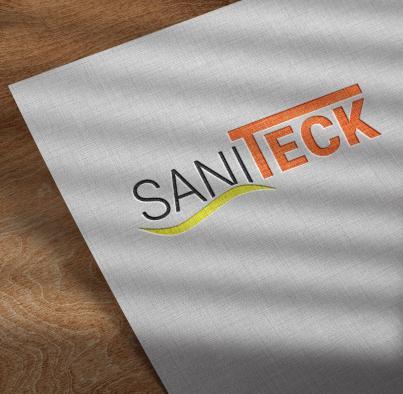 Dernière réalisation Ozanges : Logo Saniteck