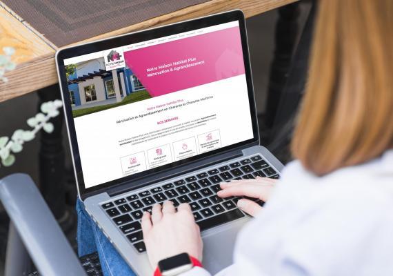 Notre Maison Habitat Plus, spécialiste en rénovation et agrandissement, fait confiance à Ozanges pour la création de son site Web.