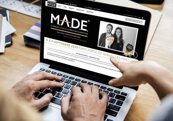 Le M.A.D.E, rendez-vous annuel de la création alimentaire a confié la création de son site Web Institutionnel à Ozanges.